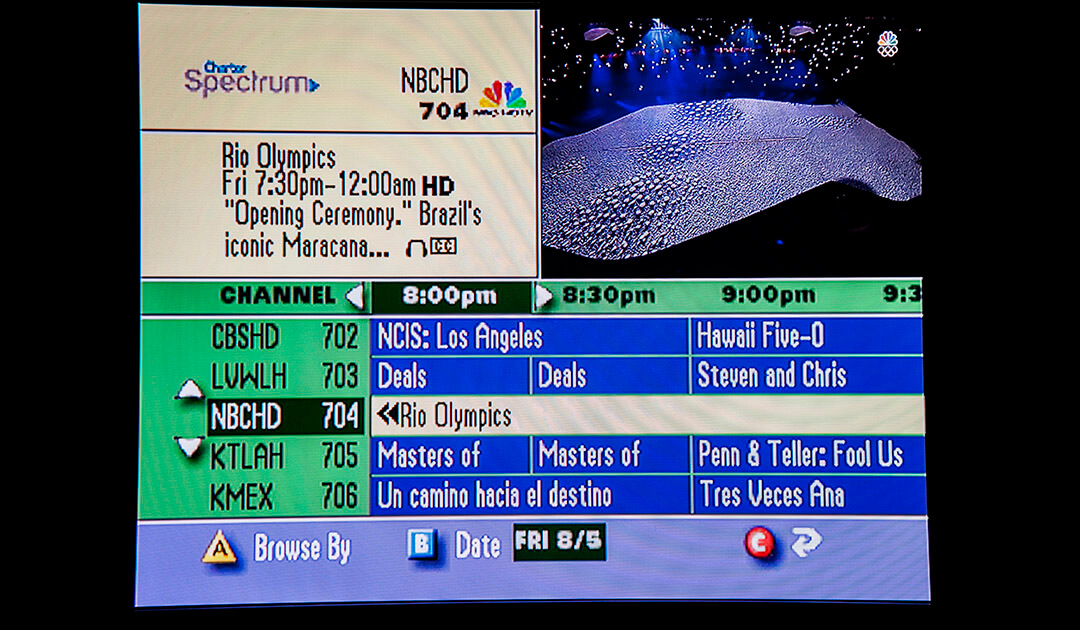 Charter Channel Guide